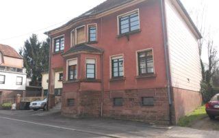 Schiffweiler Hausrenovierung - vorher